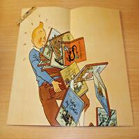 """🚩 Fac-similé poster affiche LES ALBUMS TINTIN ET MILOU en vente ici🚩 """"1943"""" 📩"""