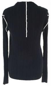 SAMPLE fur CULTURE - Neue Pullover / BLACK DEEP   38 - M