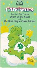 Care Bear VHS Good Luck Bear - Order on the Court & The Best Way to Make Friends