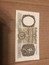 Argentina Cinco Peso Banknote 5 Pesos Banco Central De La Republic Argentina