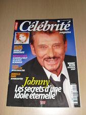 JOHNNY HALLYDAY Célébrité magazine N°2 septembre 2008