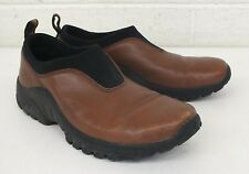 Merrell Performance Footwear Smooth Brown Leather Mocs US Women's 6 EU 36 GREAT