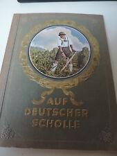 Auf deutscher Scholle,Sammelbilderalbum,1935, 1 Seite fehlt!