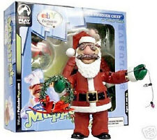 The Muppet Show Santa Swedish Chef Action Figure Christmas