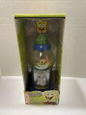 """SpongeBob SquarePants Gum Ball Machine Bank 2004 12"""" Rare original box No Gum"""