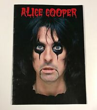 Vintage Alice Cooper 1979 Madhouse Rock Concert Tour Program Book VF Nice!