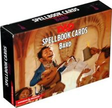 Dungeons & Dragons Spellbook Cards Bard NEW SEALED