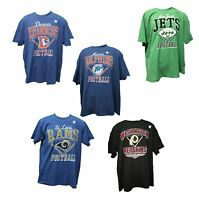 NFL Football Men' Retro T-Shirt Distressed Diamond Collection
