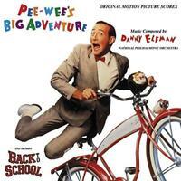 Pee-Wee's Big Adventure / Back To School Soundtracks - Danny Elfman (NEW CD)