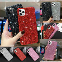 For iPhone 12 11 Pro Xs MAX XR 12 Mini Bling Glitter Sparkle Soft TPU Case Cover