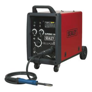 Sealey Professional MIG Welder Welding Machine 180A 230V Euro Torch SUPERMIG180