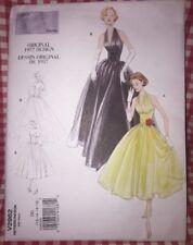 Vogue Vintage Model Pattern #V2962 Original 1957 Design Dress Dd 12 14 16 18