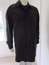 REISS RAINCOAT MACK WESTFIELD BLACK SIZE S