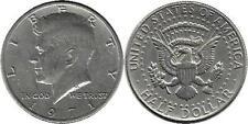 1971 John F Kennedy Half Dollar USA Coin