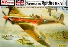 SPITFIRE Mk VIII ( RAF FAR EAST / INDIAN AF MKGS) 1/72 AZ MODEL BRAND NEW