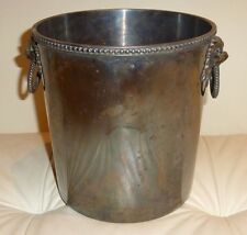 Antique Ercuis French Silver Plate Champagne Wine Ice Bucket - 30 Grams Silver