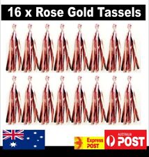 16 X Rose Gold Tassel Garland Metallic Great for Giant Balloons Weddings Party