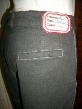 Pantalon coton gris MISS AVENTUREs ECOLE DE FILLES 40/42 brodé enfants n35