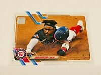2021 Topps Baseball Base Card #290 - Josh Harrison - Washington Nationals