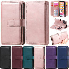Luxury 10 Card Wallet Leather Flip Case Cover For Motorola Moto E6S 2020 G9 Play