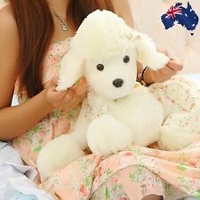 70cm White Poodle Dog Stuffed Animal Plush Toy Cute Doll Pillow Decor GBEAD5033