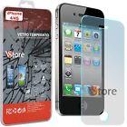 """Pellicola in Vetro Temperato Per iPhone 4 4S Protezione Schermo LCD 3,5"""""""