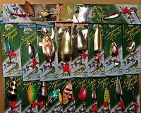 10,15 oder 20,30 Stück Blinker Spinner Kunstköder Raubfische Angeln Set gemischt