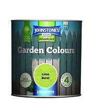 Johnstone's 1 Litre Garden Colours Paint - Lime Burst