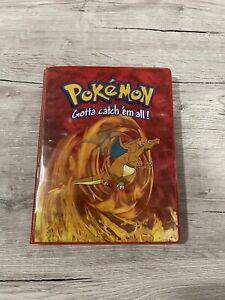 Pokémon Sammelalbum Glurak Base Set + 83 Sammelkarten Holo