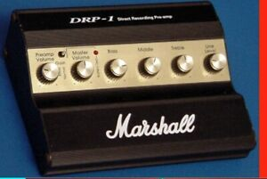 Marshall DRP-1 Direct Recording Preamp See Video