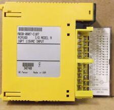 Fanuc A03B-0807-V107, AIA16G I/O Module, Model A, 16pt, 115 VAC INPUT