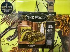 CLEARANCE SALE the woods  camo design 6 piece SHEET SET , 7 colors all SIZES