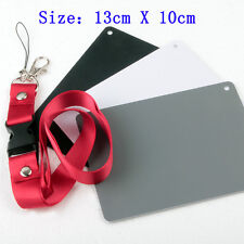 3in1 18% Digital Photography Black White Grey Exposure Color Balance Card Set L