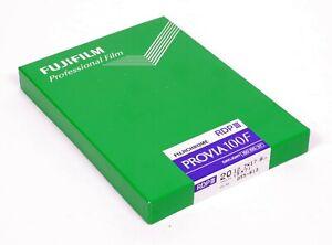 Fuji Fujifilm Provia 100F RDP III 20 sheets 5X7 E-6 slide film sealed EXP 2012