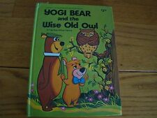YOGI BEAR THE WISE OLD OWL 1976 VINTAGE POP-UP HC