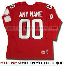 TEAM CANADA 2014 ANY NAME AND NUMBER RED JERSEY NEW SOCHI OLYMPICS
