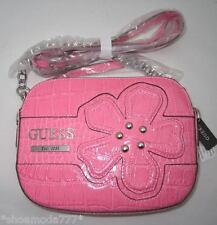GUESS by Marciano Camelia Flower Mini Bag Purse Handbag Crossbody Messenger Pink