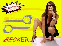 BECKER Traffic Pro Autoradio Navi Ausbau / Entriegelung Werkzeug Radio Schlüssel