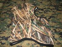 fleece nordic gear balaclava hoodie camo hoody hunting mossy oak shadow grass