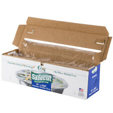"""18"""" x 2000' Foodservice Commerical Plastic Film Wrap w/ Slide Cutter"""