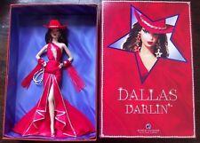 Dallas Darlin Barbie 2007 Convention Brunette LE Platinum RARE