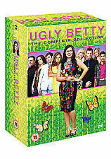 Ugly Betty - Complete Series 1, 2, 3 & 4 ---- DVD boxset
