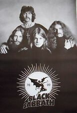 "BLACK SABBATH ""GROUP ABOVE ""1970 - 2009 LOGO"" POSTER FROM ASIA-Heavy Metal Music"