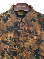 Mens BURBERRY PRORSUM RUNWAY long sleeve shirt size 42/large. RRP £425.