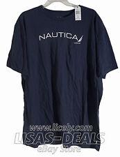 New Nautica T-Shirt Short Sleeve Tee White Gray Navy Red Green M L XL 2XL 3XL