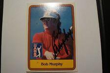 BOB MURPHY AUTOGRAPHED CARD PGA TOUR