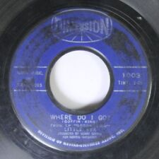 50'S / 60'S 45 Litle Eva - Where Do I Go? / Keep Your Hands Off My Baby On Dimen