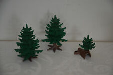 Playmobil Lot of 3 Pine Trees Landscape