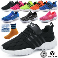 Children Shoes Boys Girls Sneakers Running Sport Casual Breathable Shoes UK 9-4