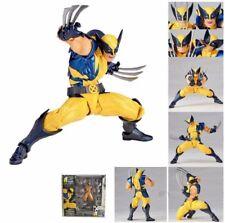 Marvel Revoltech Wolverine Action Figure Revoltech Kaiyodo X-Men Toy A88T